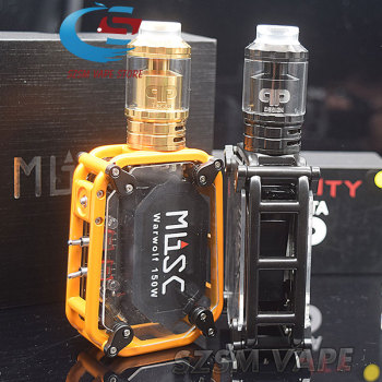 SUB TWO warwolf 150w Electronic Cigarette Kit with Designs Fatality M25 RTA tank 4ml/ 5ml 3500mAh battery vape mod Laser Box original ehpro 2 in 1 fusion 150w tc kit max 150w w fusion mod