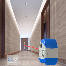 30M Laser Tape Measure 2-in-1 Digital Rangefinder With LCD Display Distance Meter Range Finder