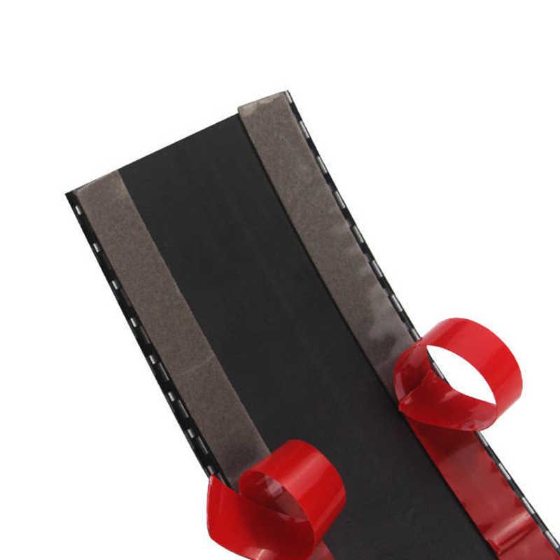 Для большинства автомобилей, грузовиков, для внедорожников Автомобильная боковая юбка защита порога края защитная полоса 1 метр углеродного волокна синий