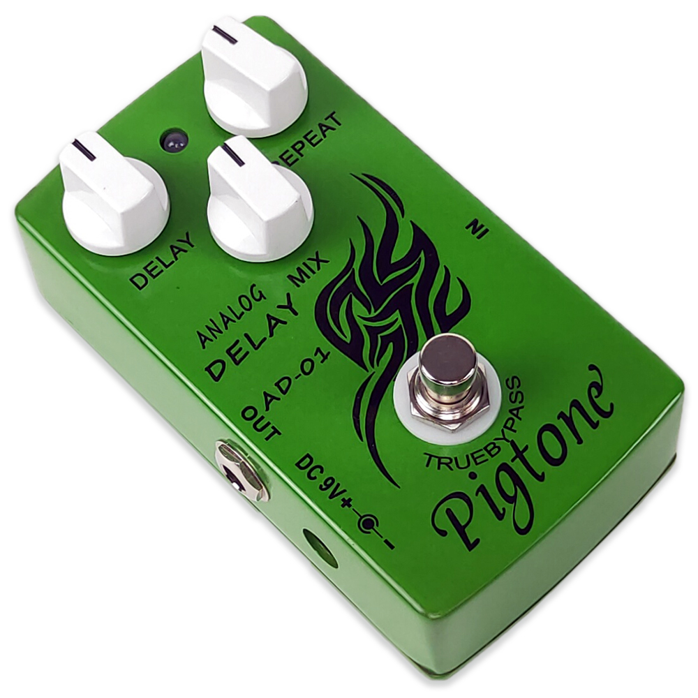 Pigtone PP-22 Analog Delay Effect Pedal Electric Guitar Accessories Effects Pedals Real Bypass