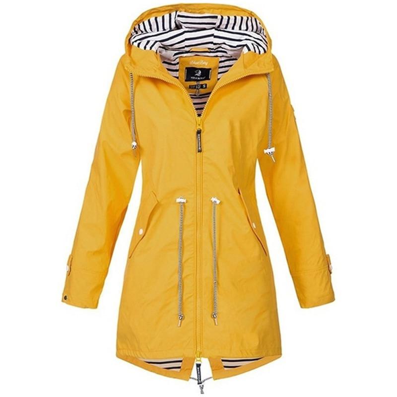 He9ff74e720c1468ea8879a56726f3c3e0 Women Jacket Coat Waterproof Windproof Transition Hooded Jackets Outdoor Hiking Clothes Outerwear Women's Lightweight Raincoat