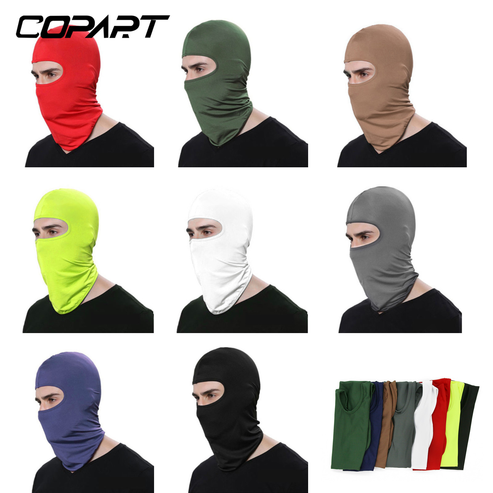 Motorcycle Face Mask Face Shield Anti-UV Sun Hats Helmet Mask Windproof Breathable Cycling Ski Shield Protecting Mask