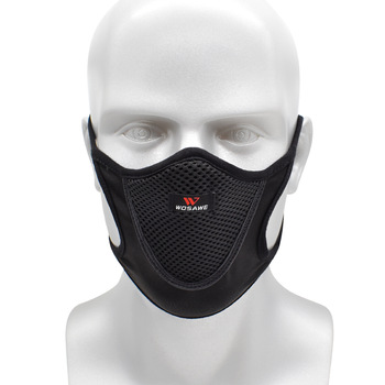 Breathable Sports Dustproof Mouth Full Mesh Filter Dust Face Mask 1