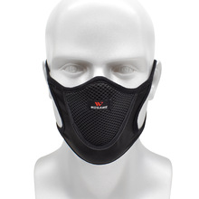 WOSAWE Breathable Cycling Facemasks City Riding Sports Dustproof Mouth Full Cover Shield Mesh Filter Dust Training Face Mask