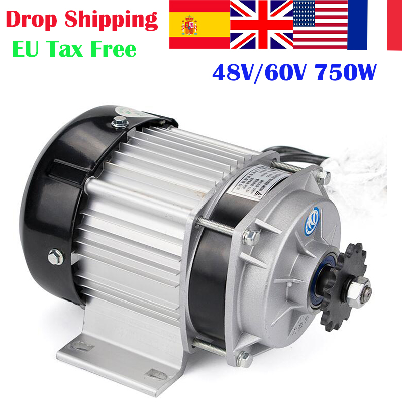 BM1418ZXF 750W 48V BLDC Brushless Motor Electric Bicycle E-Trishaw Ebike 750W Motor For Electric MotorcycleE-Tricycle Kit