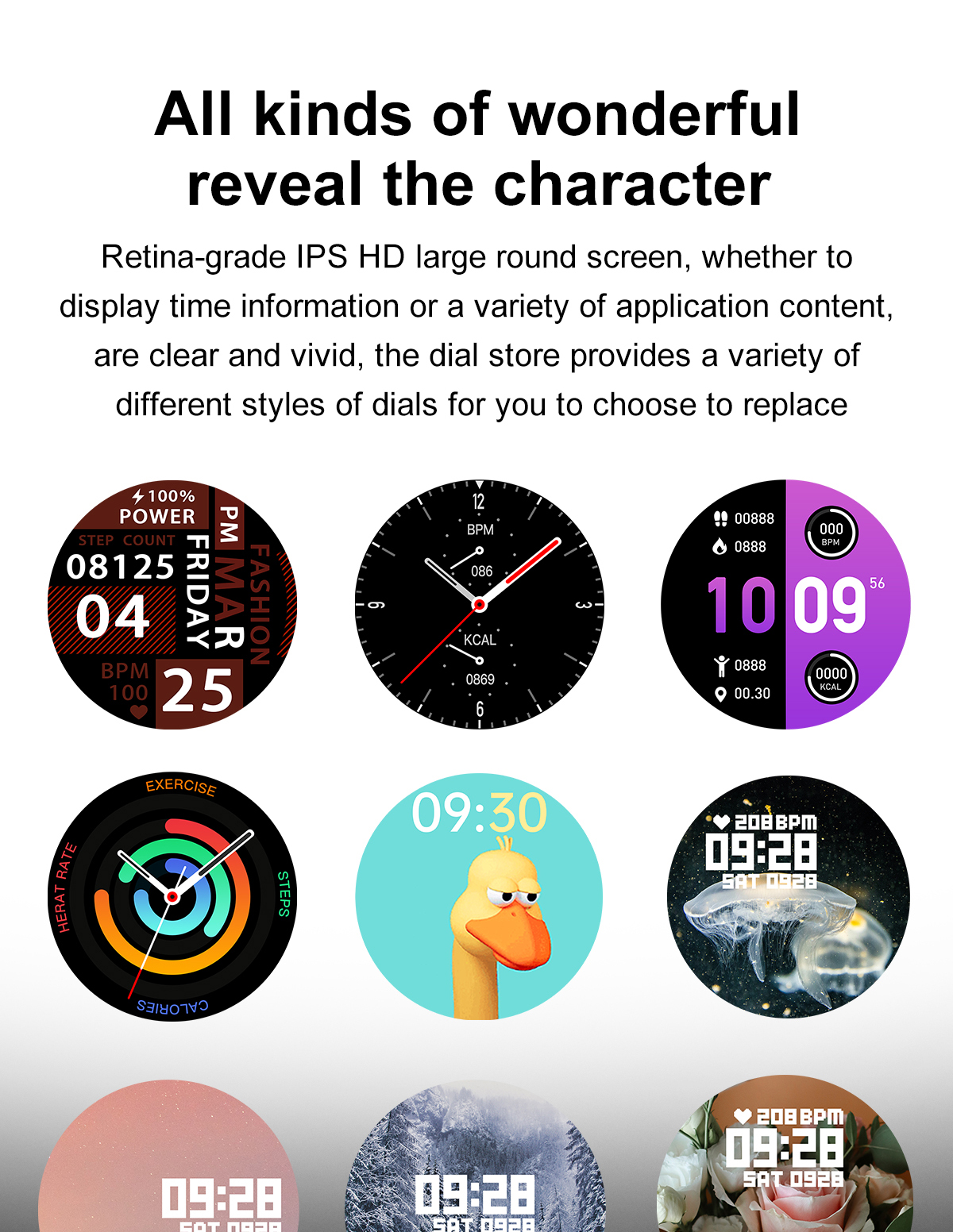 Hea005b3962eb41c2b7855d2cc382ffacm 2021 NEW Smart Watch Women Men Full Touch Fitness Tracker IP67 Waterproof Smartwatch For Android Xiaomi Redmi