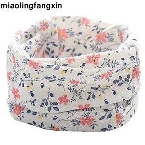 New Autumn Winter Children LIC cotton scarf Kids Child Neck Scarf boys girls scarves Child collar Warm O Ring magic neckerchief(China)