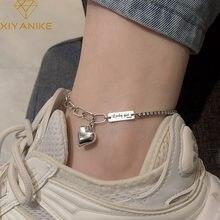 Xiyanike 新ファッション 925 スターリングシルバー夏女性のヴィンテージタイのシルバーパーティージュエリー