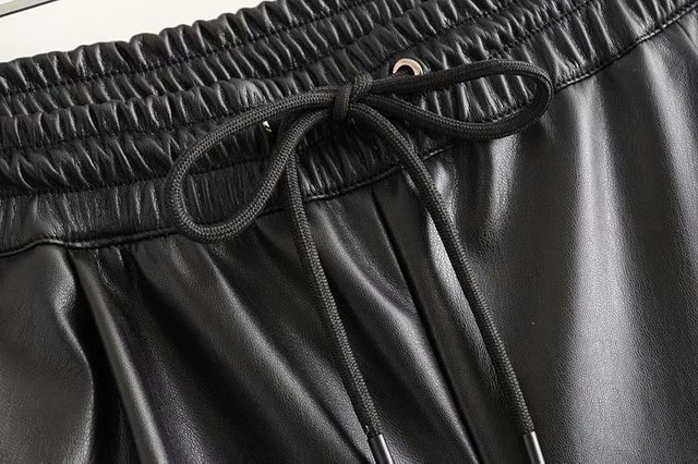 Winter Faux Leather Pants 6