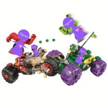 2019 NEW Batman Super Heroes Hulk vs. Red Hulk Building Blocks Bricks Movie Model Kids Toys Marvel