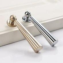 Серебряные ручки мебельная фурнитура для дверей шкафа