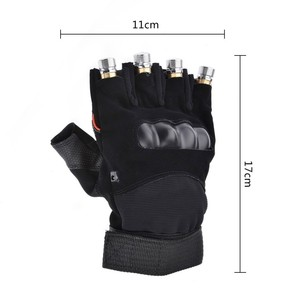 Image 3 - Red Green Laser Gloves Dancing Stage gloves laser Palm Light For DJ Club/Party/Bars Stage performance Personal props