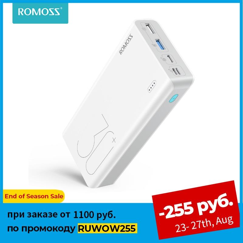 ROMOSS Sense 8 + внешний аккумулятор30000 мАч 1