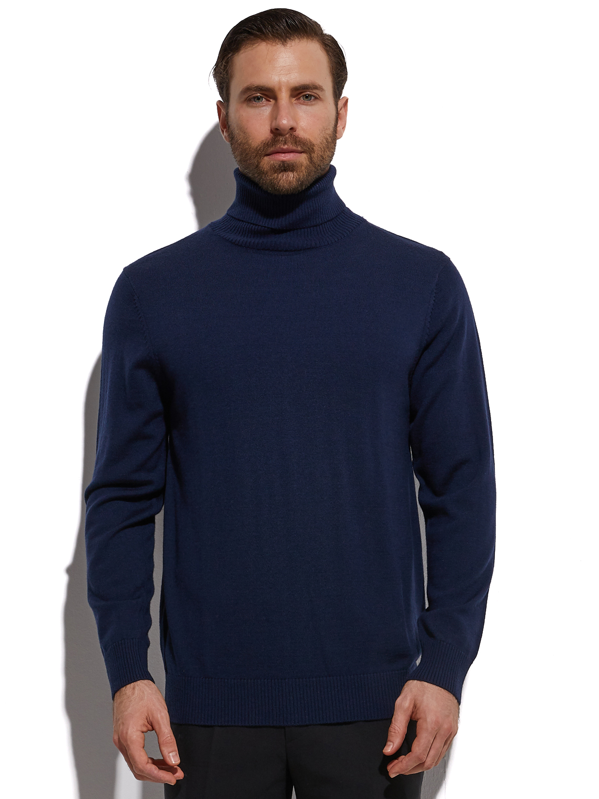 2020 Fashion Turtleneck Highly Selected 100% Extra Fine Merino Wool From Australia Autmun Winter Warm Sweaters Men Tutleneck