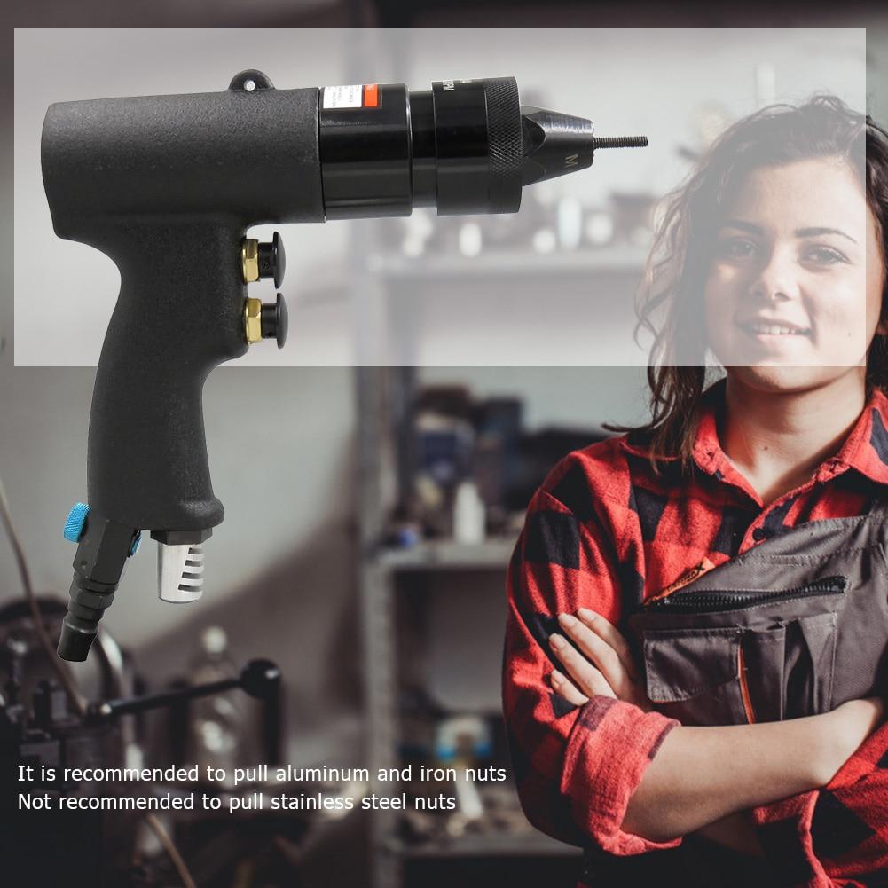 M3-M8 Electric Rivet Nail Gun Riveting Adapter For Cordless Drill Riveter Gun Pneumatic Pull Rivet Nut Tool Supplies