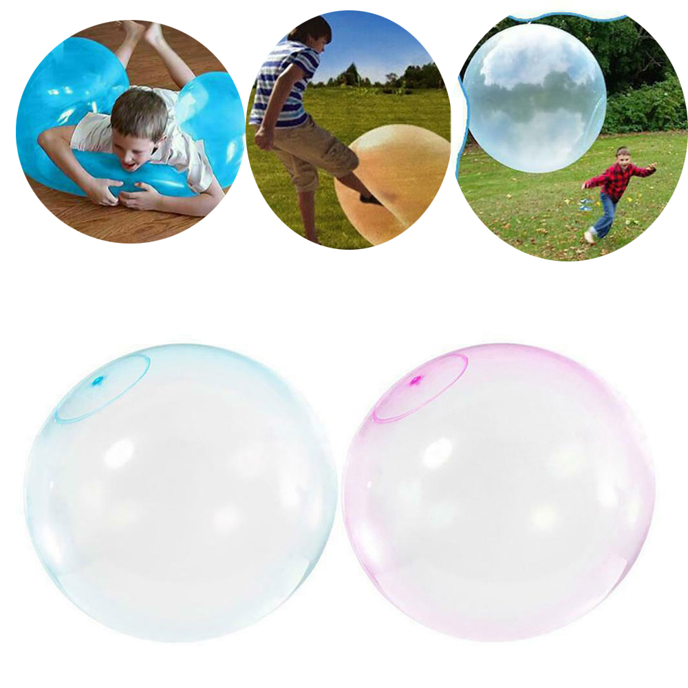 Amazing Bubble Ball Inflatable Ball Tear-Resistant Super Inflatable Ball Toys For Children Outdoor Play Toys