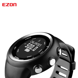 Image 3 - Mens  Digital  Sport Watch Gps Running Watch With Speed Pace Distance Calorie burning  Stopwatch Waterproof 50M EZON T031