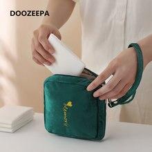 Женская маленькая косметичка doooooepa сумка для хранения гигиенических