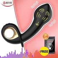 Male Inflatable Anal Plug Prostate Massager Butt Plug Huge Anal Vibrator Masturbation Dildo Adult Sex Toys for Women Men Gays