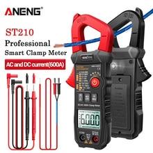 ANENG ST210 multimetro digitale professionale pinza amperometrica DC/AC 600A Tester corrente 6000 conta vero misuratore di Ampere RMS per Eletric