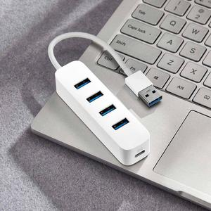Image 3 - Xiaomi Base de carga USB 3,0 Original, 4 puertos, expande 33g, transmisión rápida, USB C, entrada de energía para asistente de luz, fácil y portátil