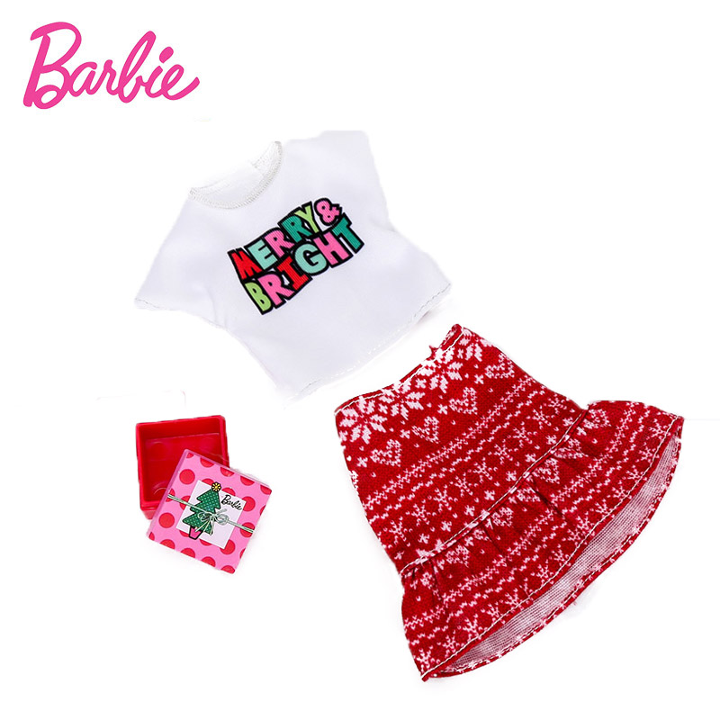 2019 Barbie Accessories Fashion Festival Dress Hat Bag Shoes For Barbie Doll Fashion Jewelry Necklace Crown Accessory Set GGG48 Christmas Gifts