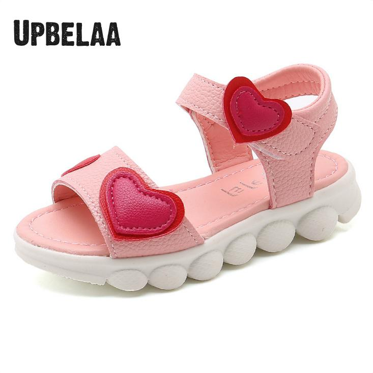 2020 Summer Baby Girls Princess Sandal Lovely Sandalia Infantil Menina Toddler Kids Shoes Fashion Open Toe Children Beach Sandal