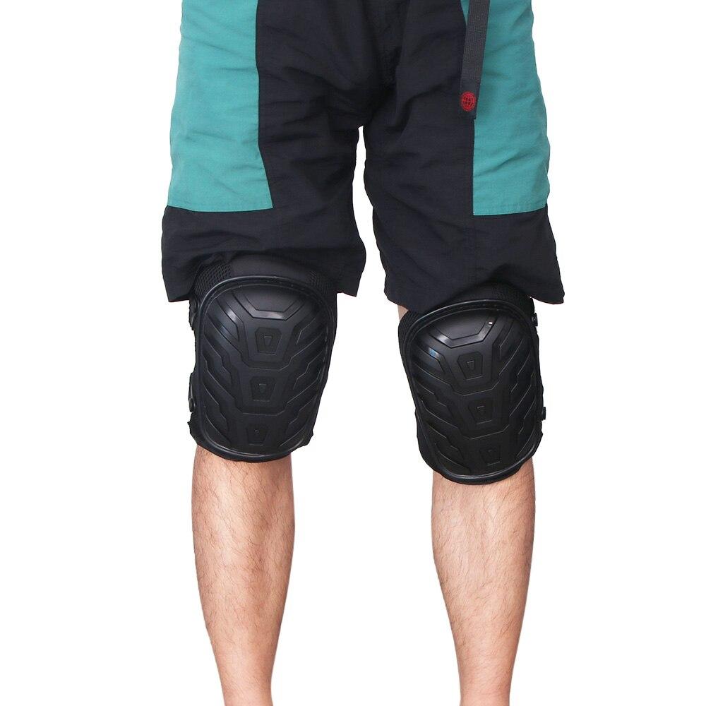 HOUKIPER 2pcs EVA Gardening Knee Pads to Work Safely in Garden with Adjustable Shoulder Straps Suitable for Concrete and Hardwood Floor 14