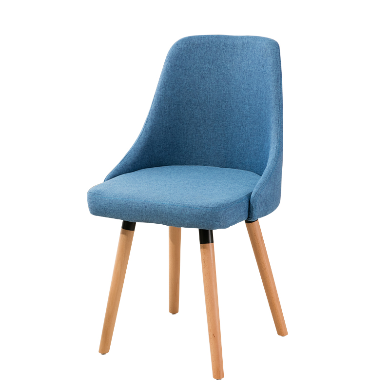 Nordic Dining Chair Solid Wood Chair Modern Minimalist Back Chair Desk Chair Home Fashion Creative Coffee Chair