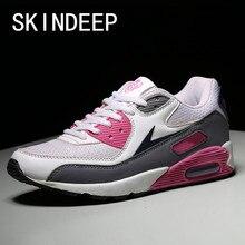 SKINDEEP Women's Fashion Cushion Shoes Mesh Running Shoes Women's Round Toe Flats