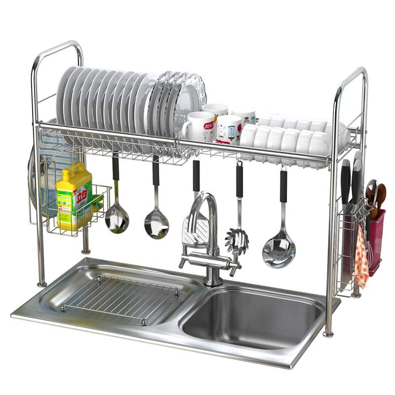 304 Stainless Steel Dish Rack Sink