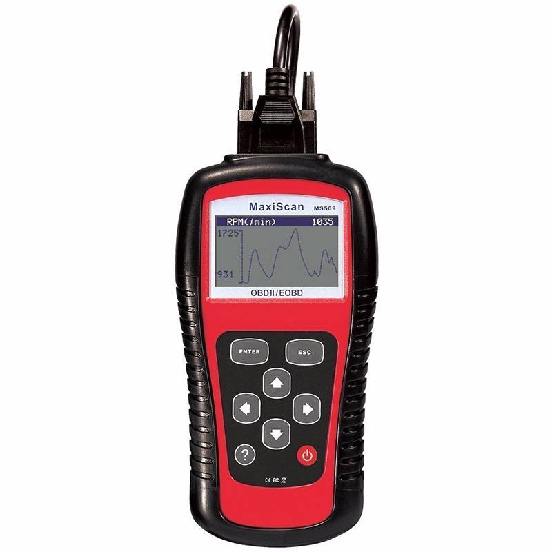 Autel MaxiScan MS509 автоматический считыватель кодов автомобиля диагностический инструмент автомобиля OBDII EOBD сканер MS509 диагностический инструмен...