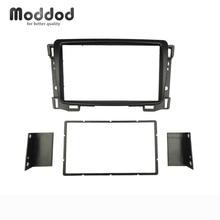 Dubbel Din Autoradio Fascias Voor Chevrolet Sail Cd Dvd Stereo Panel Fascia Dash Mount Kits Refit Installatie Trim Frame bezel