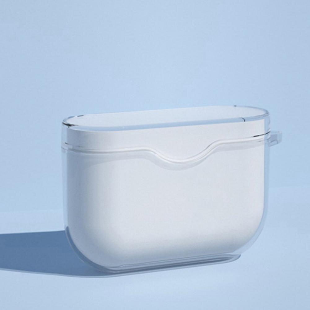 Funda protectora portátil para auriculares Sony WF-1000XM3, transparente, a prueba de polvo