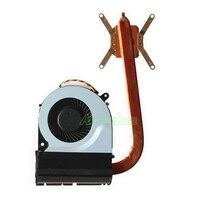 Original portátil cpu cooler ventilador para toshiba satélite c850 c855 l850 c50 c55 notebook cpu sistema de refrigeração do dissipador calor radiador