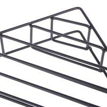 Скандинавский геометрический железный стеллаж для хранения журналов Настенная Корзина Домашний Органайзер декор L41E