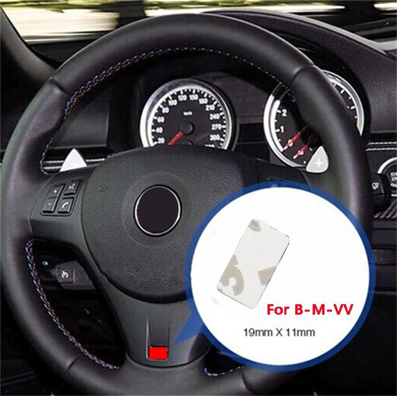 100 шт./лот украшение для стайлинга автомобиля, автомобильная наклейка на руль для BMW X1/X3/X5/X6 1/3/4/5/7 серии, автомобильная интерьерная наклейка, о...