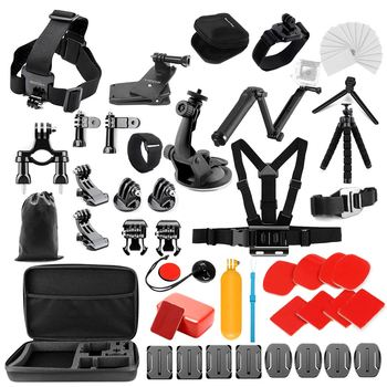 Yicoe Accessories Kit for Gopro Hero 8 7 6 5 Black Osmo Action 4 3 Session Set for Xiaoyi 4K SJCAM EKEN Mijia and other Cameras