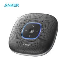 Anker-altavoz de conferencia PowerConf con Bluetooth, 6 micrófonos, pastilla de voz mejorada, 24H de tiempo de llamada