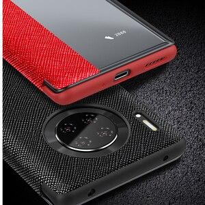Image 3 - Флип чехол из 100% натуральной кожи для Huawei Mate 30 Pro, чехол с функцией сна и пробуждения, защитный чехол для Huawei Mate30