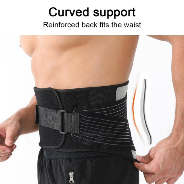 Waist Trainer Men-Waist Cincher TrimWaist Trainer Cincher Trimmer Back Support Sweat Slimming Body Belt Tools NEW 2020 3