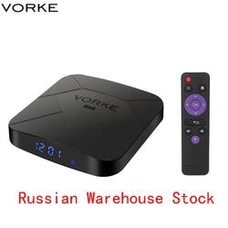 Vorke Z7 Android 9.0 TV Box 4GB/64GB Allwinner H6 Smart TV Box Quad Core USB 3.0 6K HDR Google Player Youtube Better than TX6