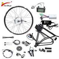 BAFANG ハブモーター電動自転車変換キット 36V 48V 250 ワット 350 ワット 500 ワットフロントモーターホイールのための 26