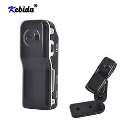 Kebidu mais novo md80 mini dv dvr câmera de esportes para bicicleta/moto vídeo gravador de áudio 720p hd dvr mini câmera dvr com suporte