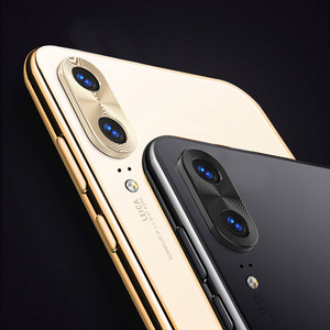 Image 2 - Per Huawei P20 Lite Obiettivo Della Fotocamera Anello di Protezione di Placcatura di Alluminio Per Huawei P20 P20 Pro Cassa Della Macchina Fotografica Anello di Copertura di Protezione