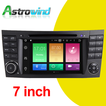 Android 9.0 For Mercedes W211 for Mercedes W219 Car DVD GPS Navigation System Auto Radio Stereo Media Support 4G DVR OBD2 TPMS image