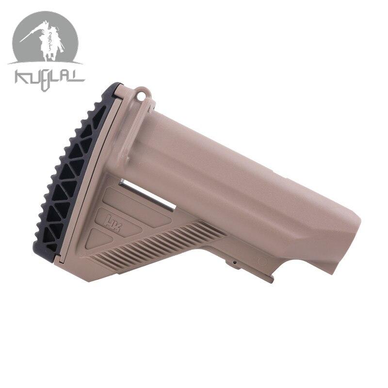 New Non-slip Nylon Stock 416 Stock  Minimalist Tactical Rife Mil-Spec Black/Tan Outdoor Camping Components Gel Blaster