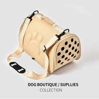 Pour chiens chat pliant Cage de Transport pour animaux de compagnie pliable chiot caisse sac à main sacs de Transport animaux fournitures Transport Chien accessoires