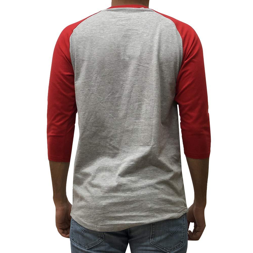 62USD Men's Plain Raglan Baseball Tee T-Shirt Unisex  Sleeve Casual Athletic Performance Jersey Shirt