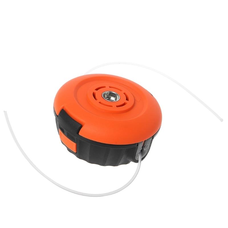 Universal Garden Trimmer Head Line Pump 2 Lines Strimmer Brush Cutter Lawn Mower 649E